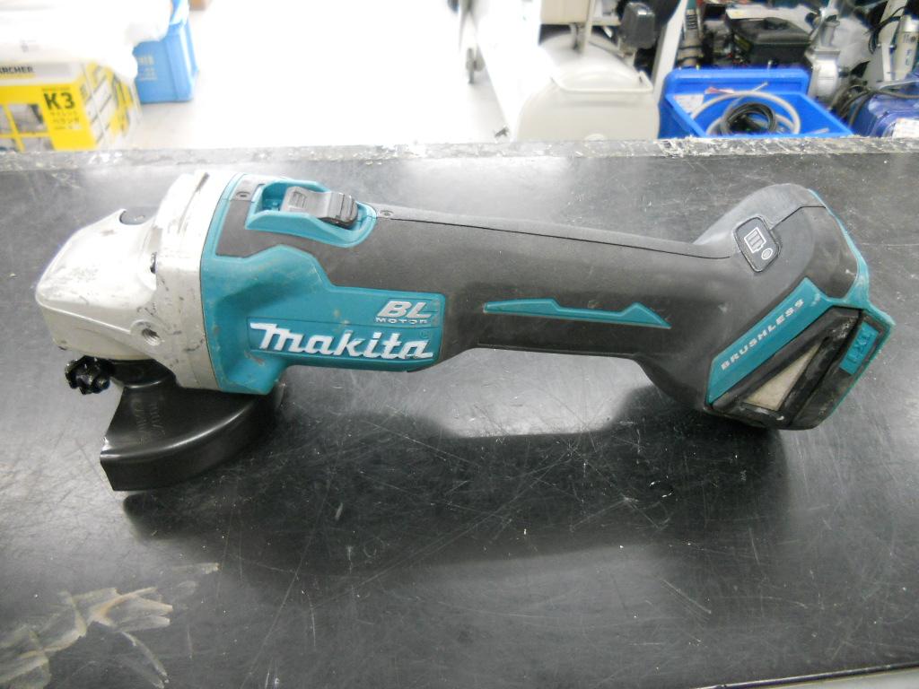マキタ充電式ディスクグラインダーGA404D入荷しました!