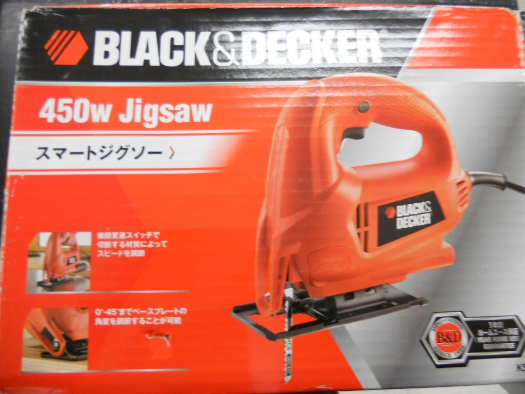 ブラック アンド デッカー スマートジグソー KS600を買い取りました。