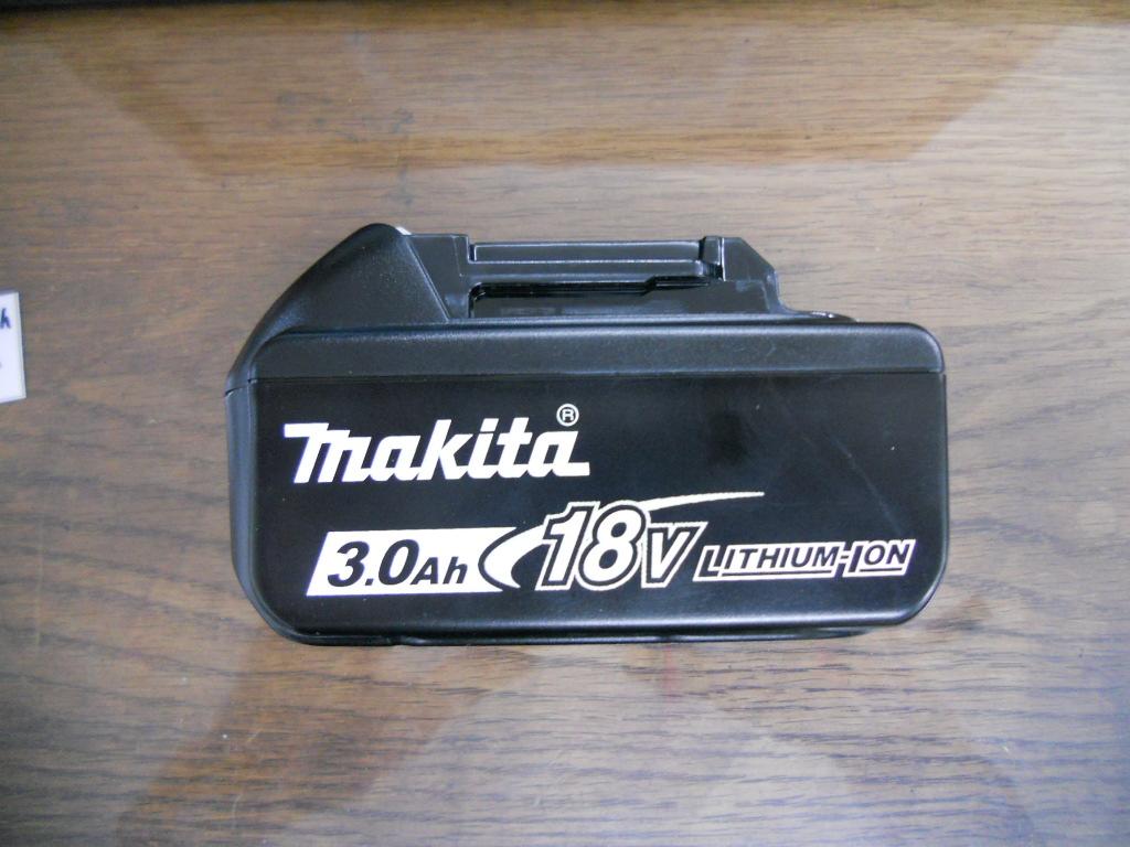 マキタバッテリーBL1830Bを買い取りました。