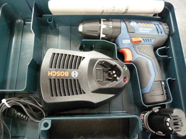 BOSCHの充電式ドライバードリルセットを買い取りしました!