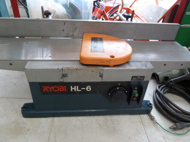 RYOBI HL-6  小型手押しカンナを買い取りしました!