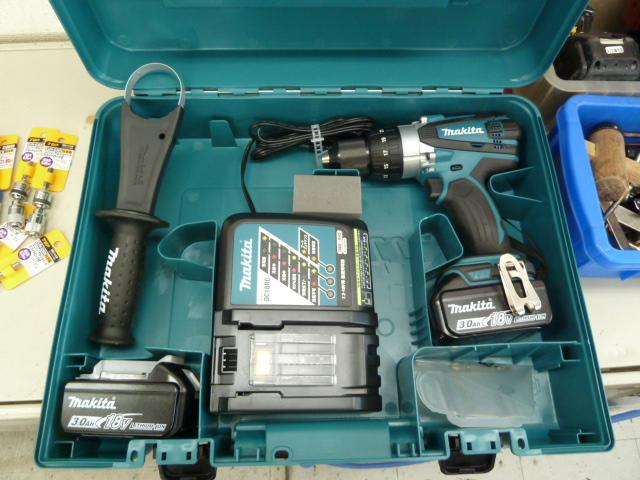 マキタ 充電式ドライバドリル DF458DRFXを買取しました! 岡山店