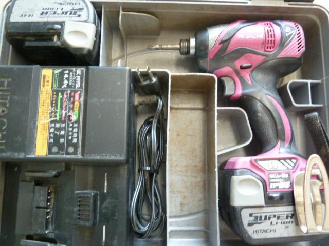 日立のインパクトドライバWH14DSLを買い取りしました!岡山店