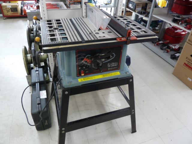ナカトミ産業、ホームツールのテーブルソー TS-254Cを買い取りしました!岡山店