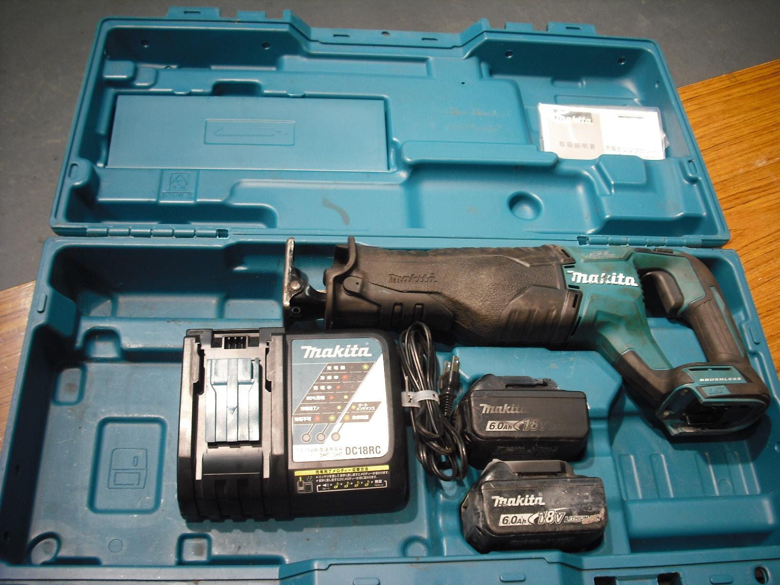 マキタ 充電式レシプロソー JR187DGRを買い取りしました!倉敷店