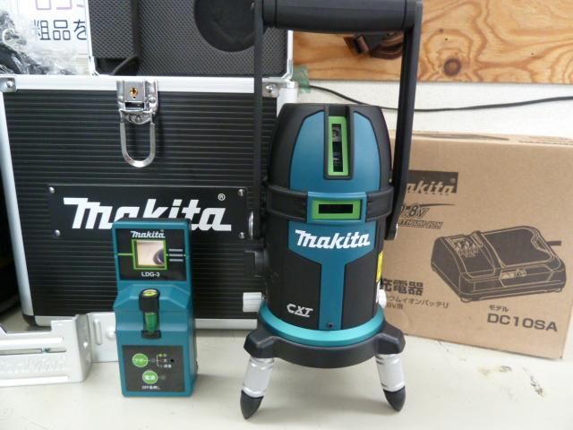 未使用品のマキタ 充電式SK505GDZ グリーンレーザー墨出し器を買い取りしました!岡山店