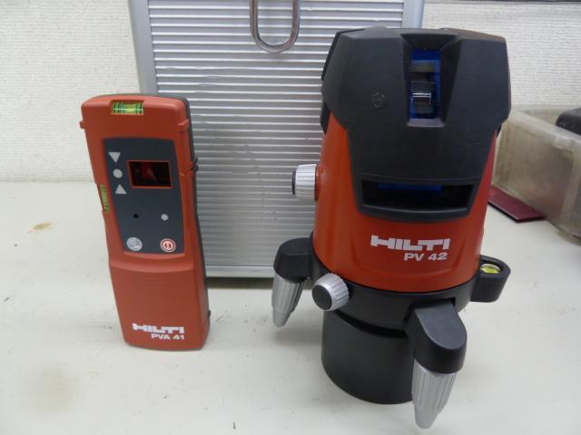 ヒルティのレーザー墨出し器、ラインレーザー / PV42を買い取りしました!岡山店