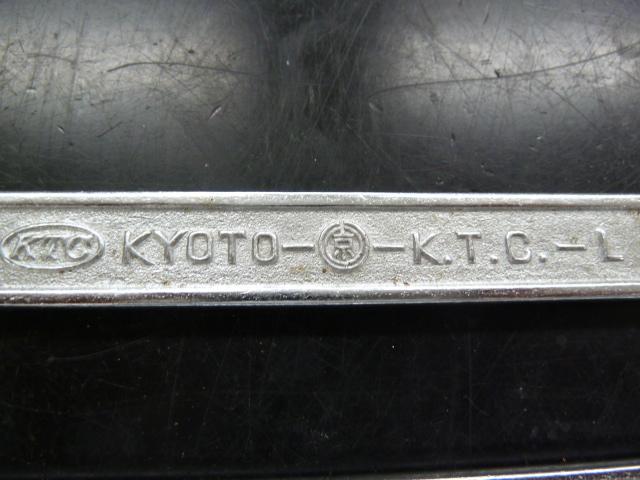 KTCの二重丸京のロゴ入り スパナ3本セットを入荷しました!岡山店