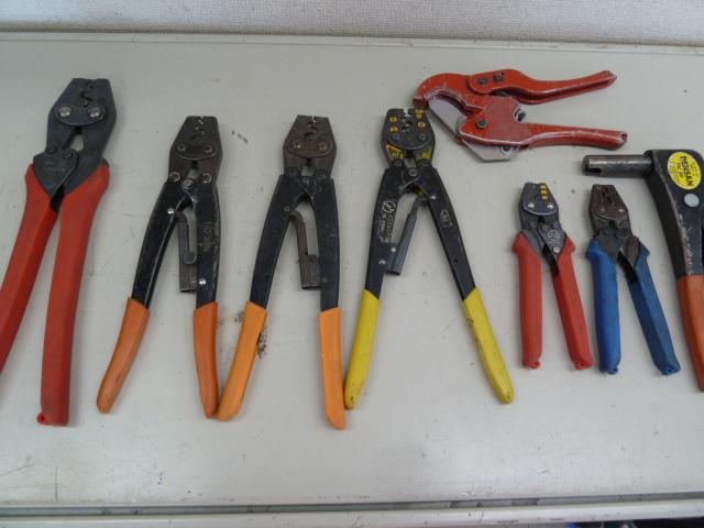 圧着工具を買い取りしました!ミノル・デンサン・ホーザン色々あります。岡山店