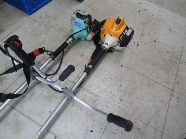 草刈り機、リョービ EKK-2370,日立 FCG21Eを買い取りしました!岡山店