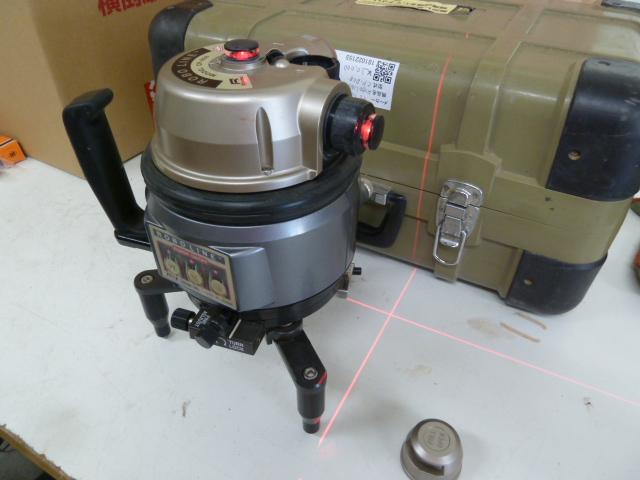 レーザー墨出器ロボライン CP-808を買い取りしました!岡山店