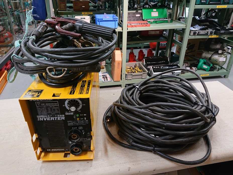 SUZUKID 直流インバーターアーク溶接機 SIM-120を買い取りしました!倉敷店