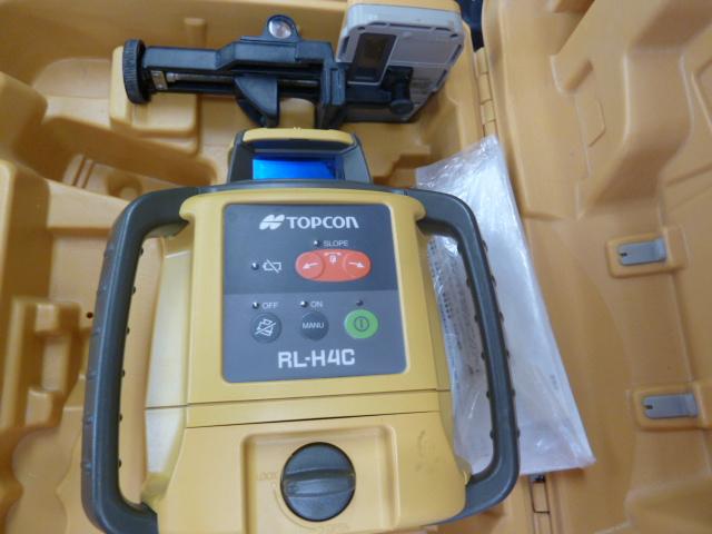 トプコンの回転レーザーレベルアップ、RL-H4Cを買い取りしました!岡山店