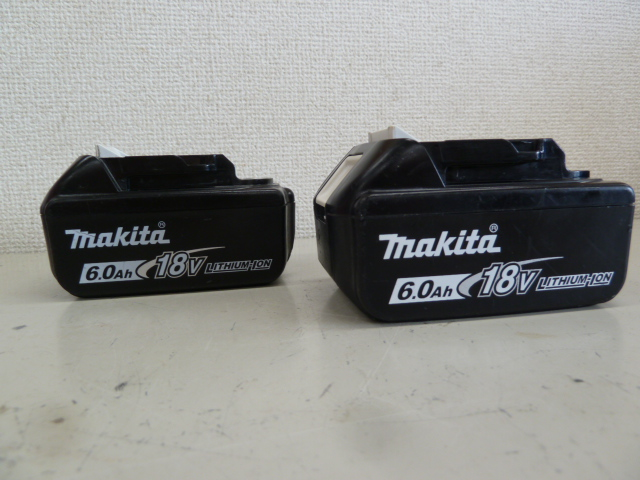 マキタのバッテリー、BL1860Bを買い取りしました!岡山店