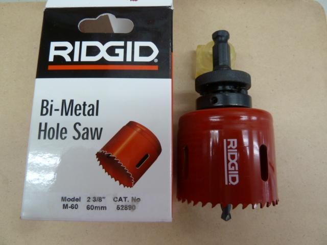 RIDGID(リジッド) バイメタルホールソー M-60を買い取りしました!岡山店
