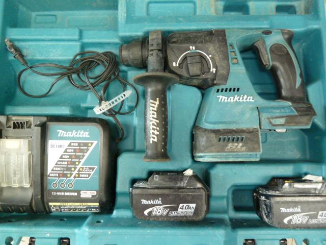 マキタ(makita) 充電式ハンマドリル HR244DRMX 18Vを買い取りしました!岡山店