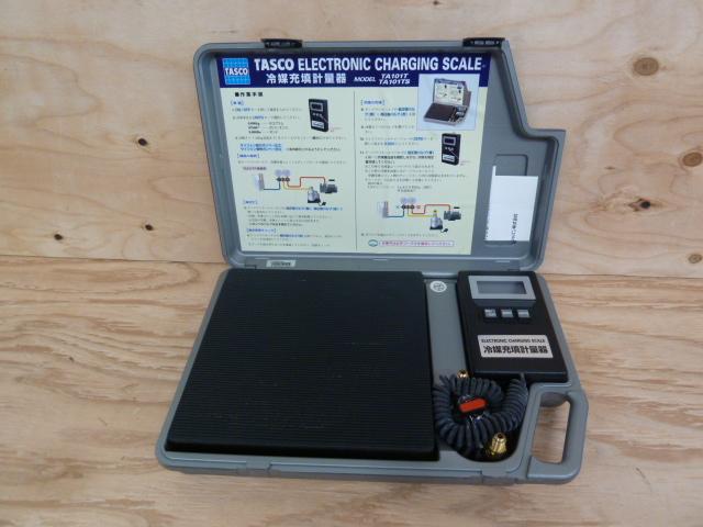 TASCO タスコ 、高精度エレクトロニックチャージャー 冷媒重鎮計量器 TA101Tを買い取りしました!岡山店