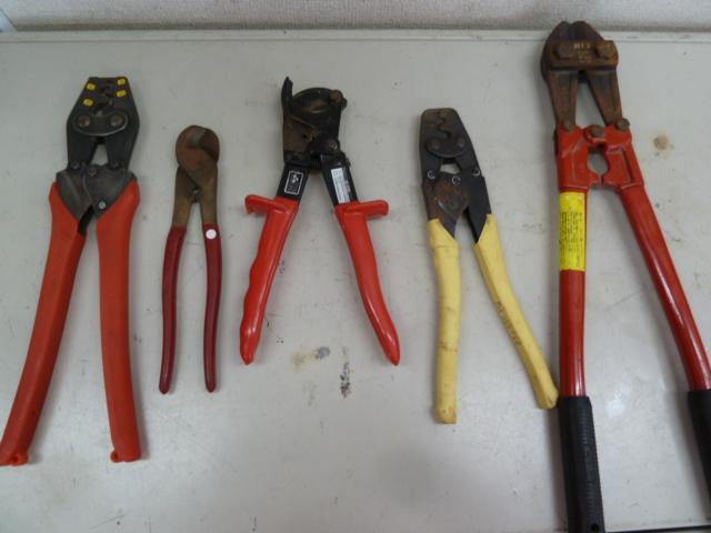 マーベル・ミノル・エビ・ロブスター・COLORSの圧着工具ペンチ、カッター、ボトルクリッパーなどを買い取りしました!岡山店