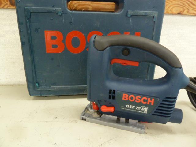 BOSCH(ボッシュ)のジグソーGST75BEを買い取りしました!岡山店