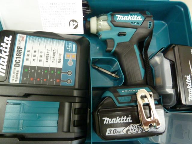 マキタ、インパクトドライバ TD155DRFXを買い取りしました!岡山店