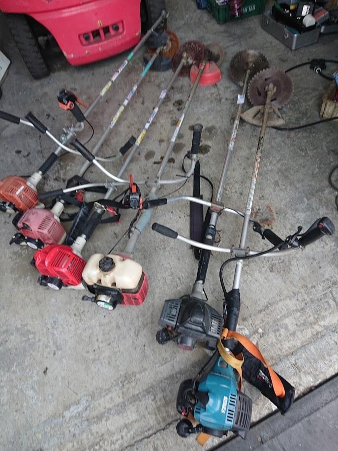 草刈り機 たくさん買取しました!倉敷店