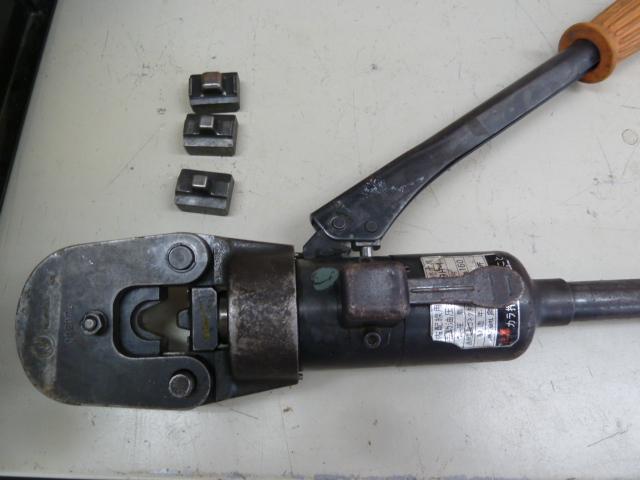 泉製作所、手動油圧式圧着工具 9H-1を買い取りしました!岡山店