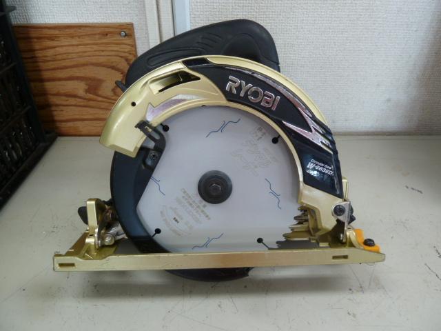 リョービ 電子マルノコ W-663ED限定色ゴールドを買い取りしました!岡山店