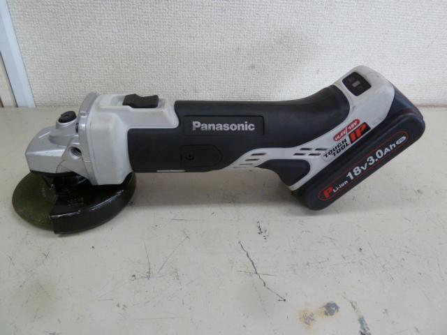 パナソニックのEZ46A1 ディスクグラインダー100 14.4V/18Vを買い取りしました!岡山店