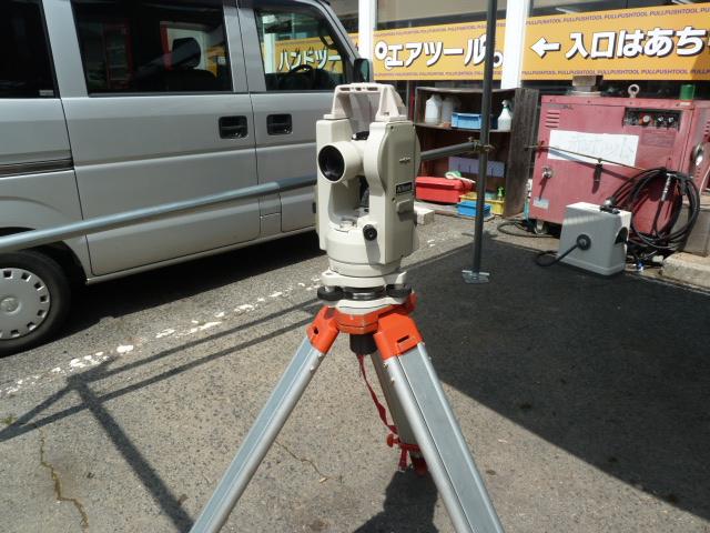 ニコン 電子セオドライト NE-20SC を買い取りしました!岡山店