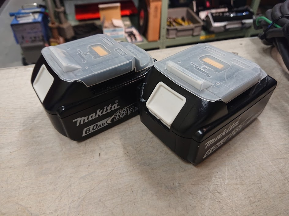 マキタ 充電バッテリーBL1860B を買取しました!倉敷店
