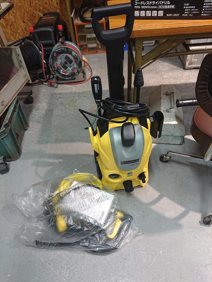 ケルヒャー 高圧洗浄機K2.900silentを買取しました!倉敷店