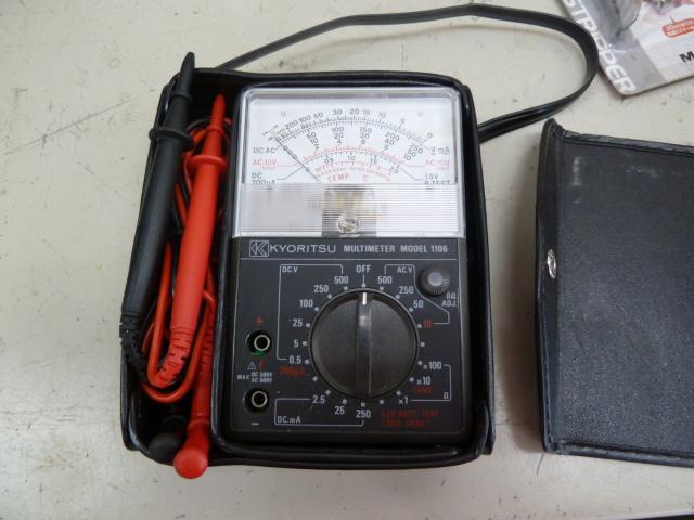 共立 マルチメーター MODEL 1106 を買い取りしました!岡山店