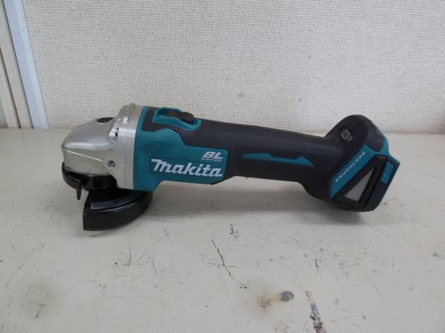 マキタ 18V用 受電式ディスクグラインダー GA404DN(本体のみ)を買い取りしました!