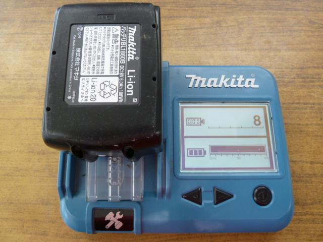マキタ バッテリー BL1860B 充電回数8回、を買い取りしました!岡山店