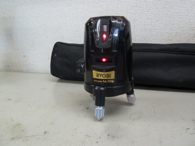 リョービ★レーザー墨出器★LL-100を買い取りしました!岡山店