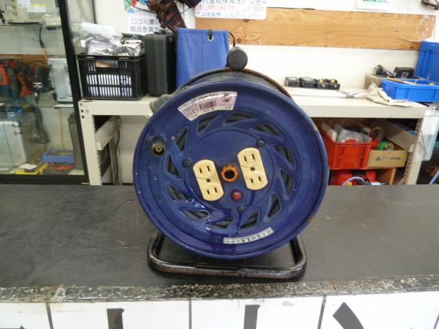 日動、コードリール 極太電線 NF-304F ドラム 電工ドラム 全長30m を買い取りしました!岡山店