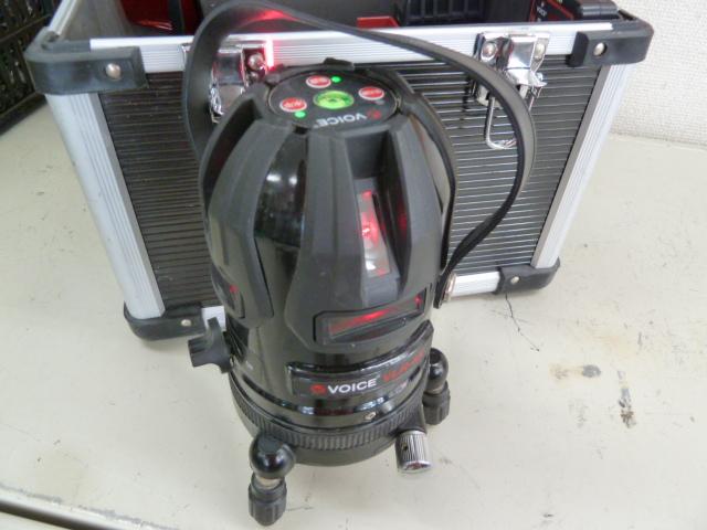 VOICE フルライン レッドレーザー墨出し器 VLR-8Xを買い取りしました!岡山店