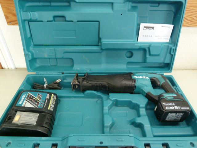 マキタ 18V 充電式レシプロソー JR187DZKを買い取りしました!岡山店