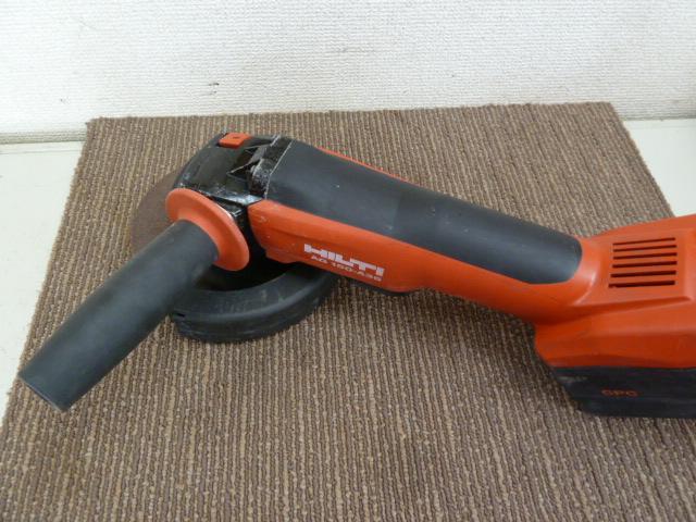 ヒルティ(HILTI) 充電式アングルグラインダー AG 150-A36 を買い取りしました!岡山店