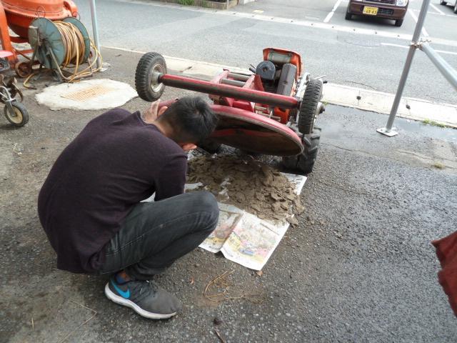 共栄社 バロネス 芝刈り機 GM65AWR 自走ロータリーモアを買い取りしました!岡山店