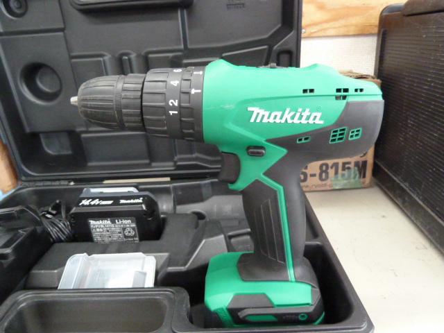 マキタ 14.4V 充電式ドライバドリル M850DWXを買い取りしました!岡山店