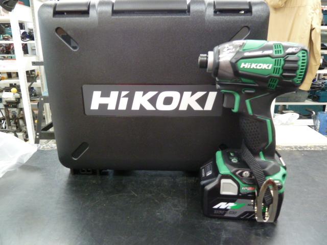 HiKOKI(日立工機) マルチボルト 36V 充電式インパクトドライバー WH36DAを買い取りしました!岡山店