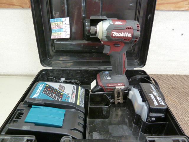 マキタ 18V インパクトドライバー TD170DTXARを買い取りしました!岡山店