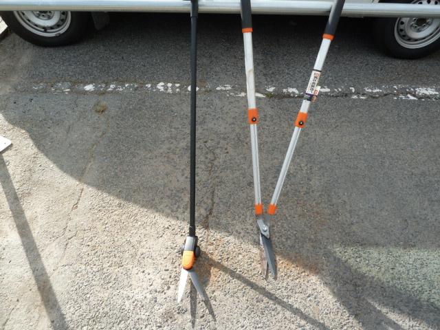 DAISHIN(ダイシン) たち刈る君2号 たったまま草刈り鋏と、アルミハンドル草刈り鋏を買い取りしました!岡山店