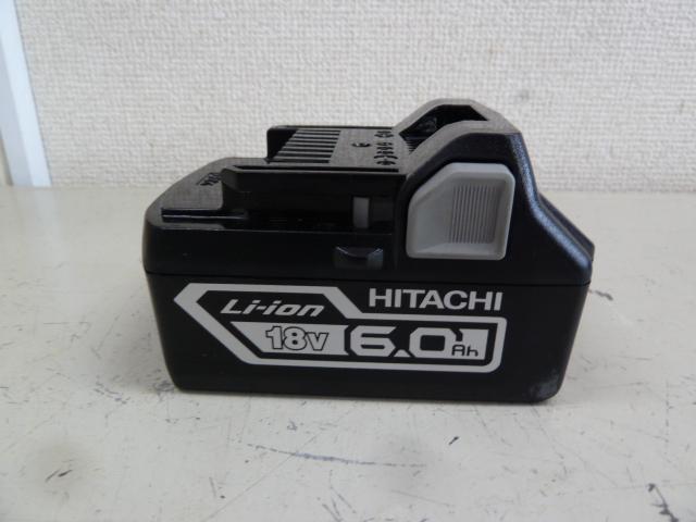 日立(ハイコーキ)18V バッテリー BSL1860を買い取りしました!