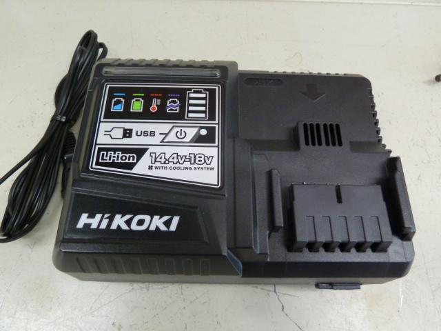 ハイコーキ(日立)の冷却機能付急速充電器(14.4V~18V対応)::UC18YDLを買い取りしました!岡山店