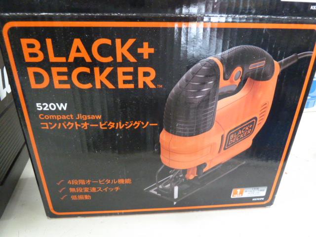 ブラックアンドデッカー コンパクト オービタルジグソー 100V オレンジ KS701PEを買い取りしました!