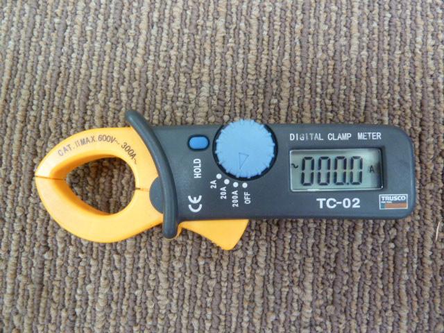トラスコ中山(株) TRUSCO ミニクランプテスタ 交流電流測定用 TC-02を買い取りしました!岡山店