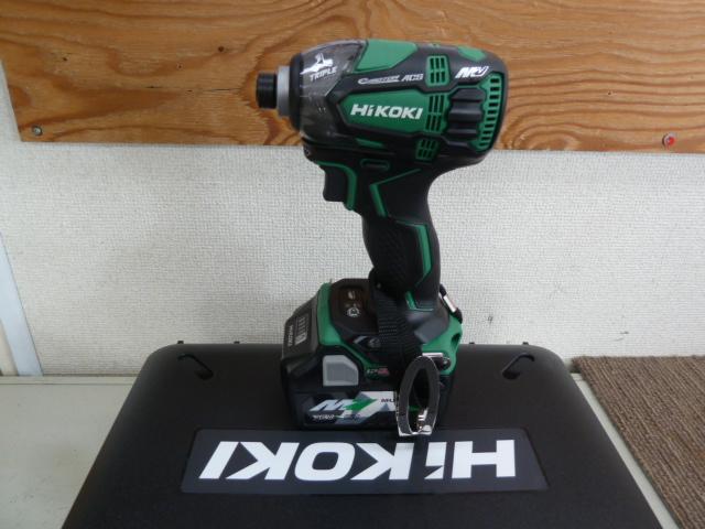HiKOKI(日立工機) WH36DA マルチボルト 36V 充電式インパクト を買い取りしました!岡山店