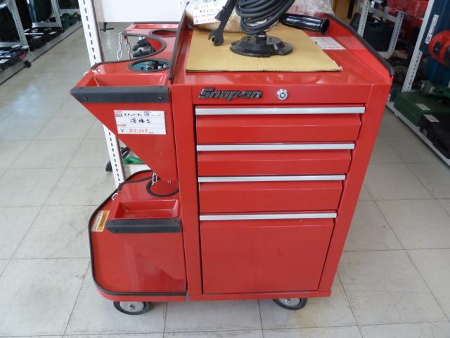 スナップオン・KTCなどの、キャビネット、ツールボックス等 販売しています。岡山店